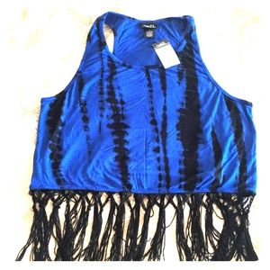 Fringed Crop Top